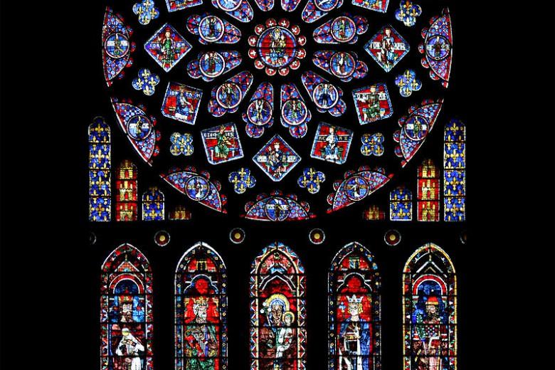 Glasmålningar i kyrkor